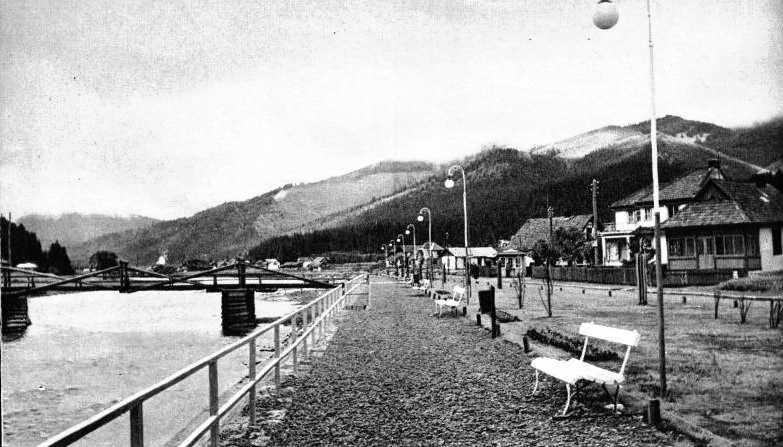 1930-і рр. Набережна у Сколе