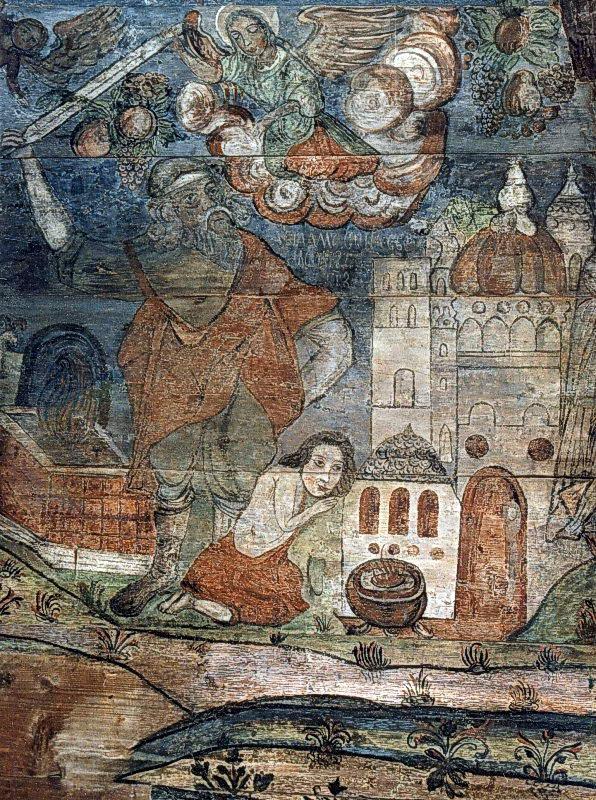 Авраамова офіра, 1607 р.