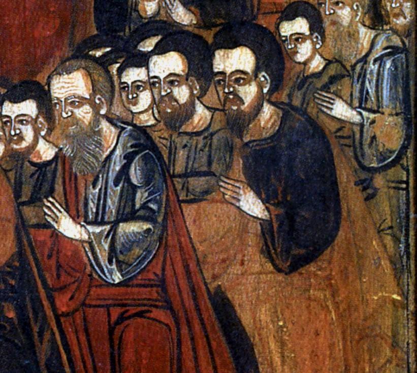 Права нижня група вірних