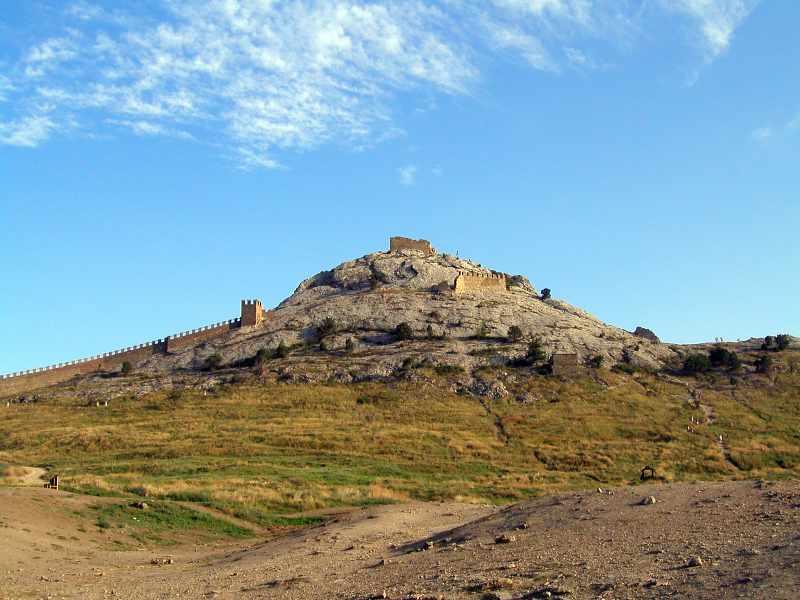 2004 р. Верх Фортечної гори. Вигляд з півночі
