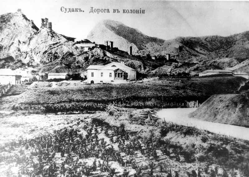 {Поч. 20 ст.] Загальний вигляд фортеці зі сходу