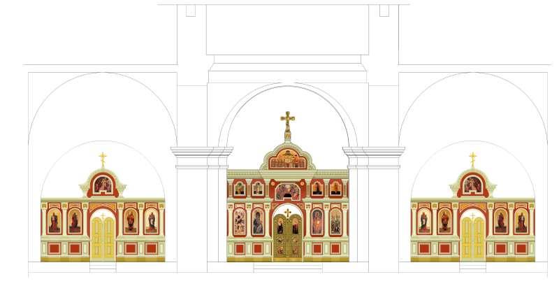 2006 р. Проект нового іконостасу