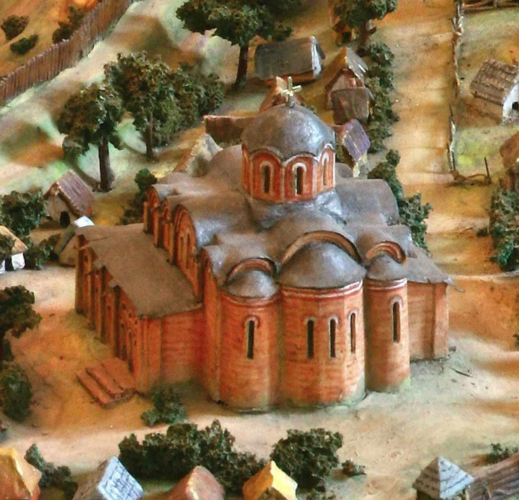Церква св.Дмитра (умоглядна реконструкція)
