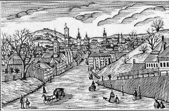 19 ст. Перспектива вул.Коперніка