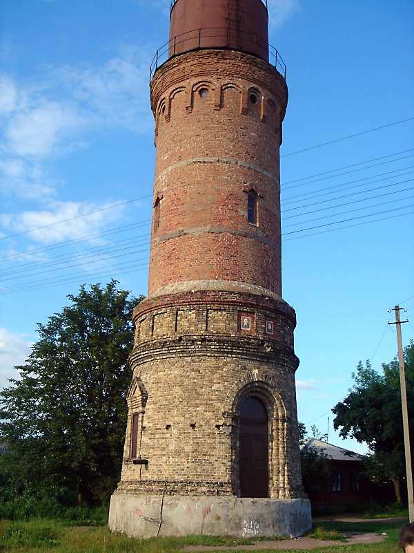 2008 р. Водонапірна башта