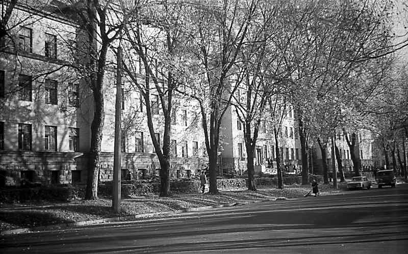 1975 р. Загальний вигляд з боку вулиці