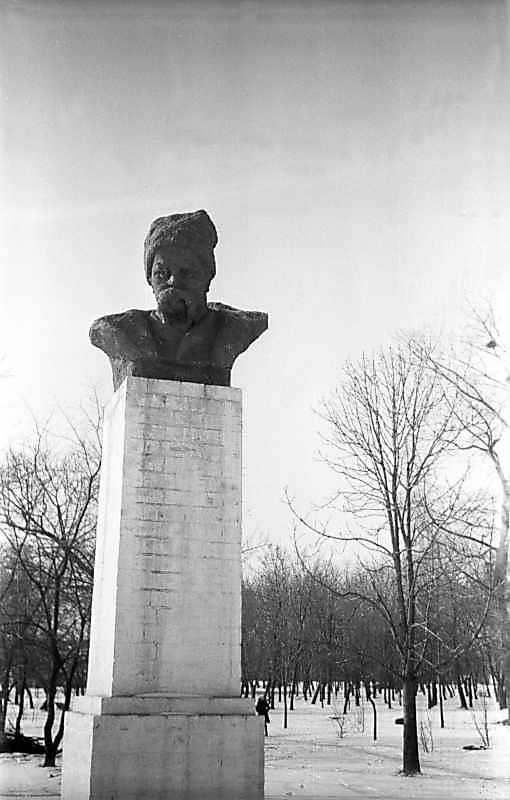 1976 р. Пам'ятник Т.Г.Шевченку