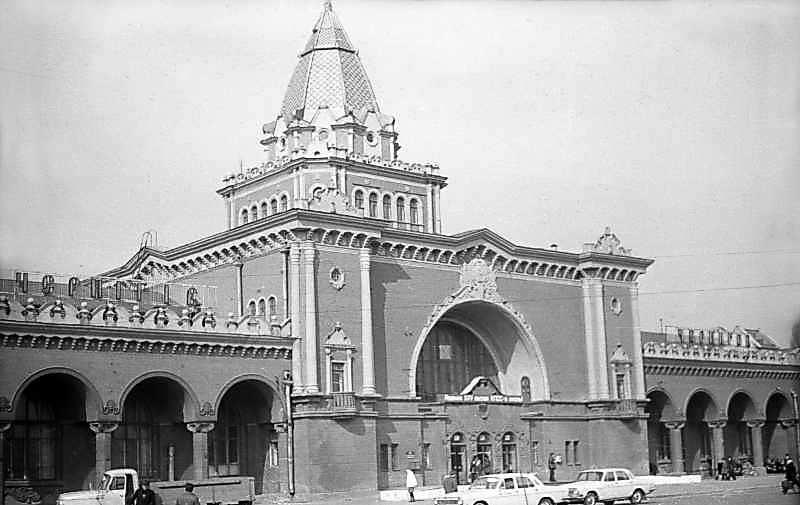 1976 р. Залізничний вокзал