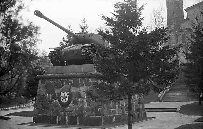 Пам'ятник радянським танкістам