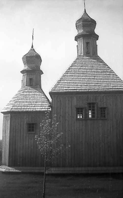 1977 р. Вівтар і нава. Вигляд з півночі