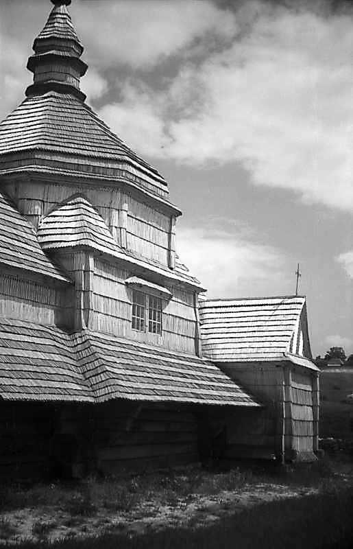 1977 р. Південний фасад. Вигляд з південного заходу
