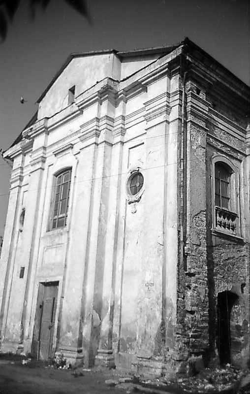 1977 р. Головний фасад. Вигляд з північного сходу