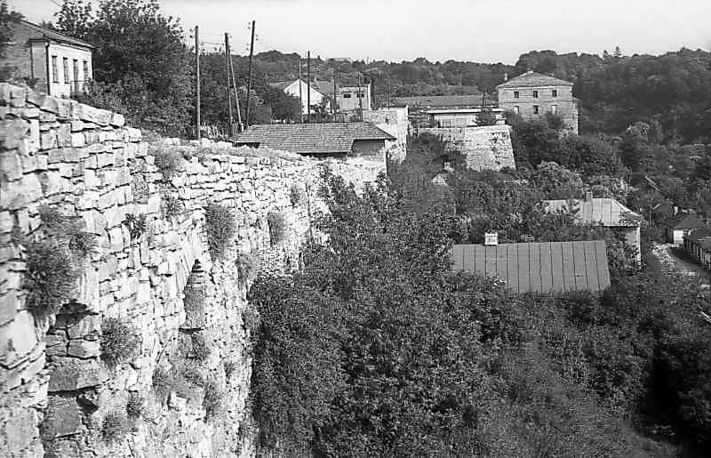1977 р. Оборонний мур. Вигляд з півночі