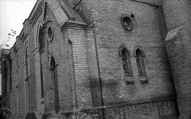 1977 р. Фрагмент фасаду. Вигляд з південного сходу