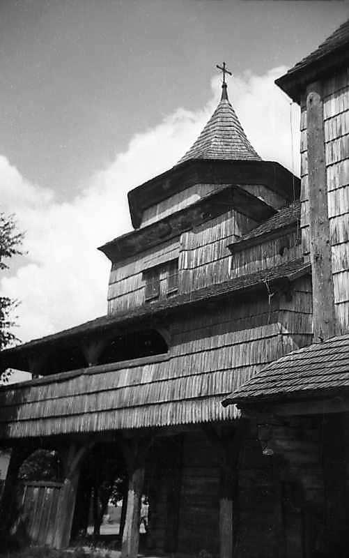 1977 р. Бабинець. Вигляд з південного сходу