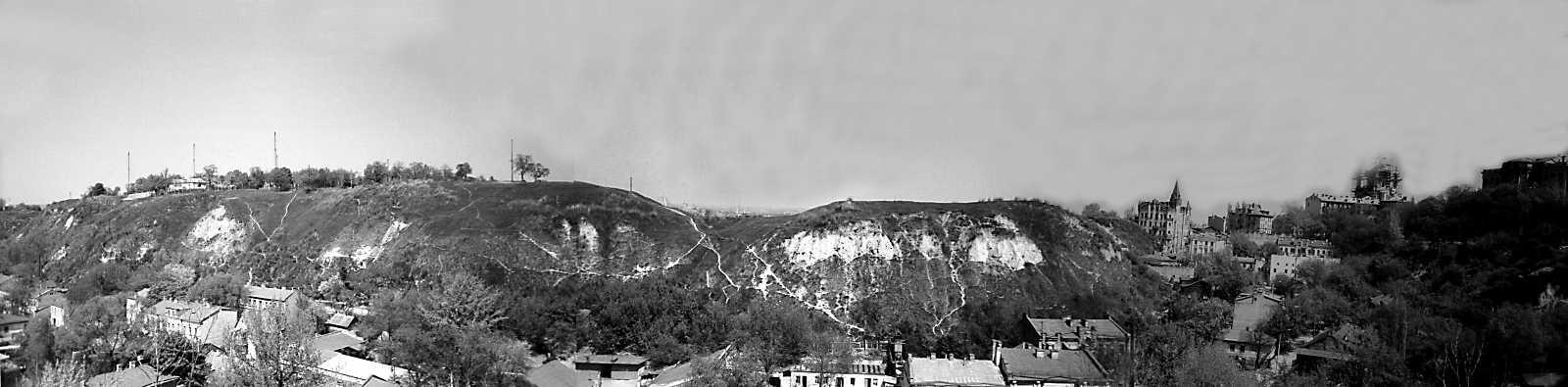 1978 р. Панорама з північного заходу