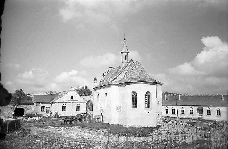1978 р. Подвір'я. Загальний вигляд з південного сходу
