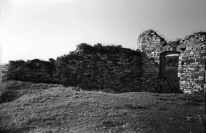 1978 р. Південно-східний мур і південна башта. Вигляд з півночі