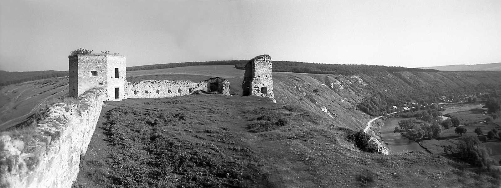 1978 р. Панорама подвір'я з південного сходу