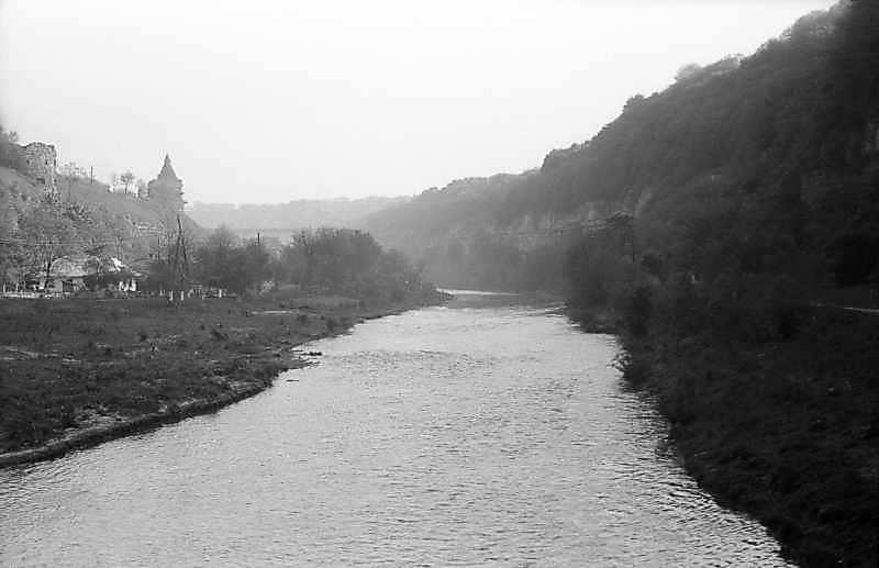1979 р. Долина Смотрича, Кравецька та Гончарська башти. Вигляд з півдня