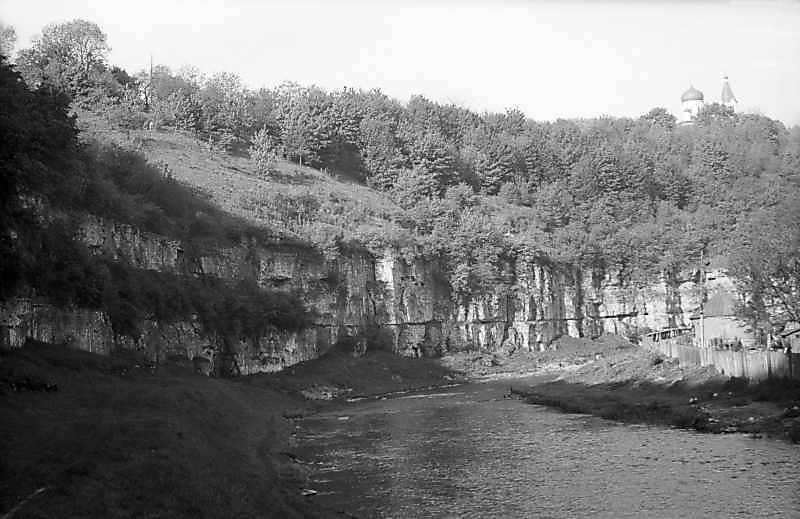 1979 р. Каньйон Смотрича біля Руських фільварків