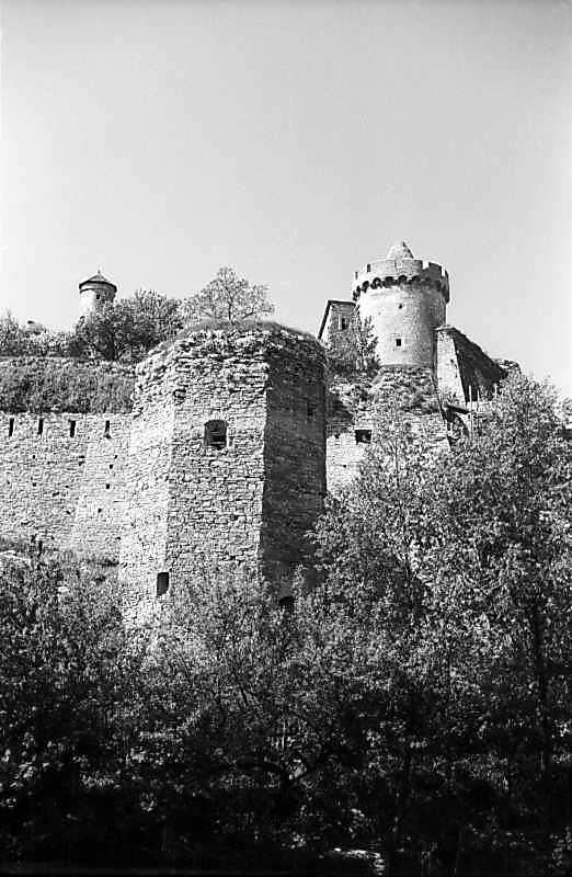 1979 р. Загальний вигляд з північного сходу на тлі башт Комендатської та Рожанки