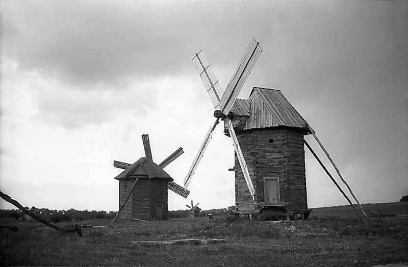 1979 р. Вітряки з с.Смолин і Юнаківка