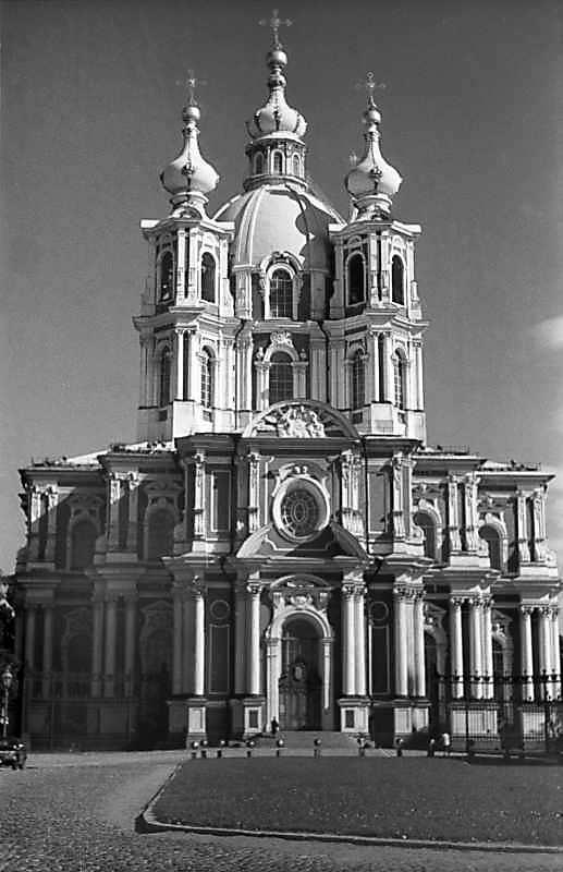 1981 р. Головний фасад собору
