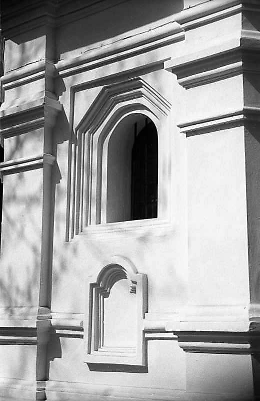 1983 р. Фрагмент південно-східної стіни вівтаря. Вигляд з південного сходу
