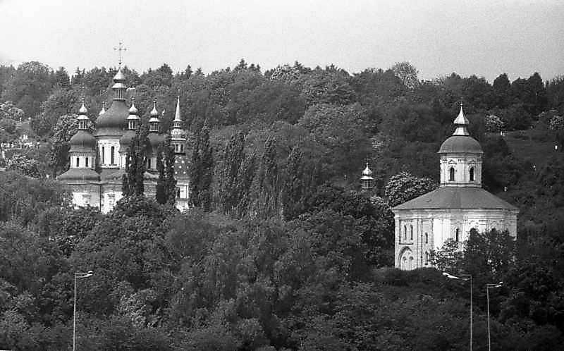 1983 р. Георгіївський і Михайлівський собори. Вигляд з південного сходу
