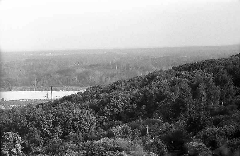 1983 р. Вид на Ворсклу від монастиря