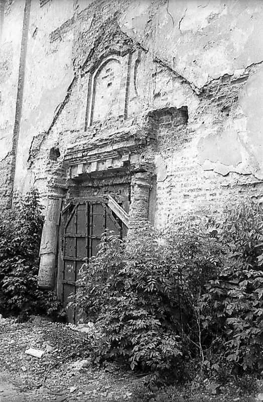 1983 р. Південно-східний портал. Вигляд з позиції А2