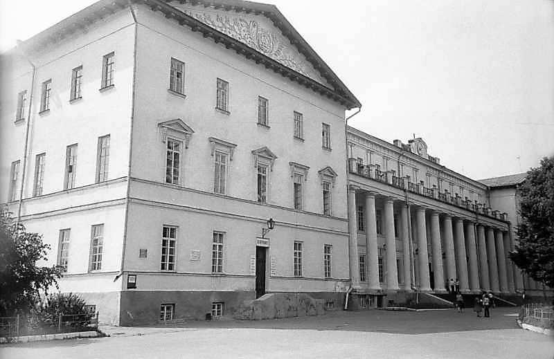 1983 р. Загальний вигляд з боку головного фасаду