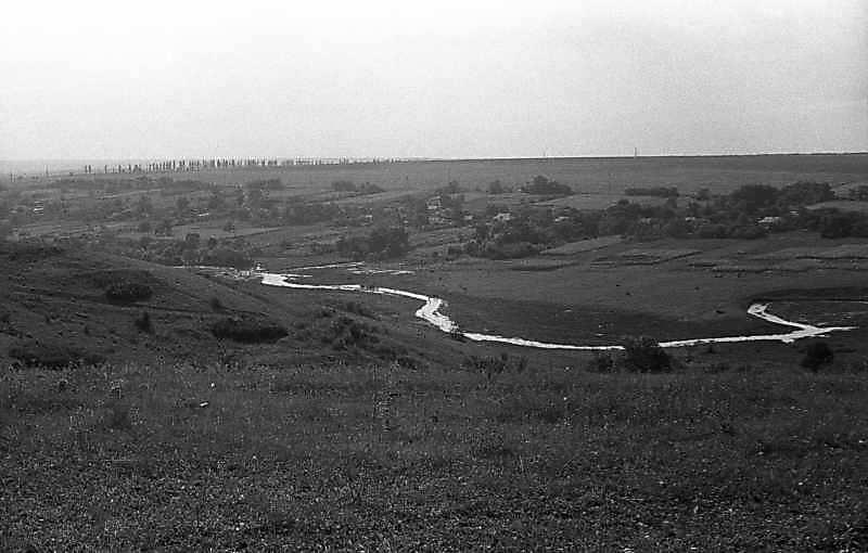 1983 р. Краєвид з річкою біля Кіровограда