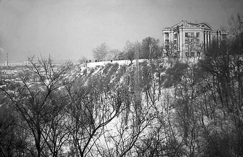 1984 р. Загальний вигляд Старокиївської гори із заходу
