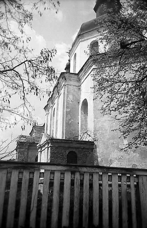 1984 р. Південний фасад. Вигляд зі сходу