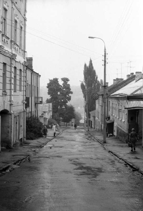 1984 р. Вулиця в Новому городі, яка спускається до Богу