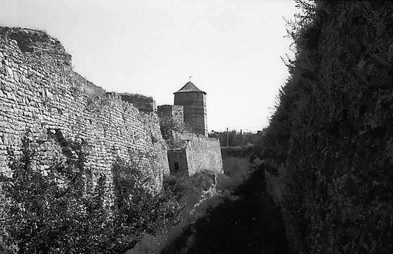 1984 р. Південний фронт з баштами 9, 8, 7, 6. Вигляд із заходу, з рову
