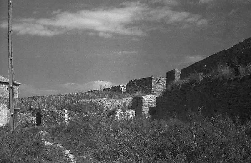 1984 р. Центральна частина східного фронту з баштами 1 – 3. Вигляд з південного заходу