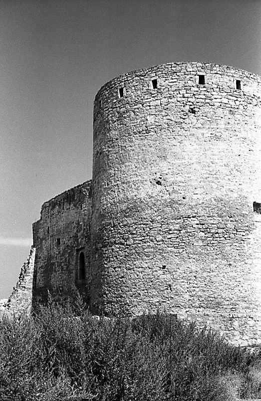 1984 р. Західний мур і башта 26. Вигляд з півдня