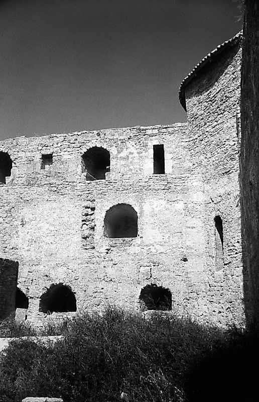 1984 р. Східна частина північного муру. Вигляд з півдня