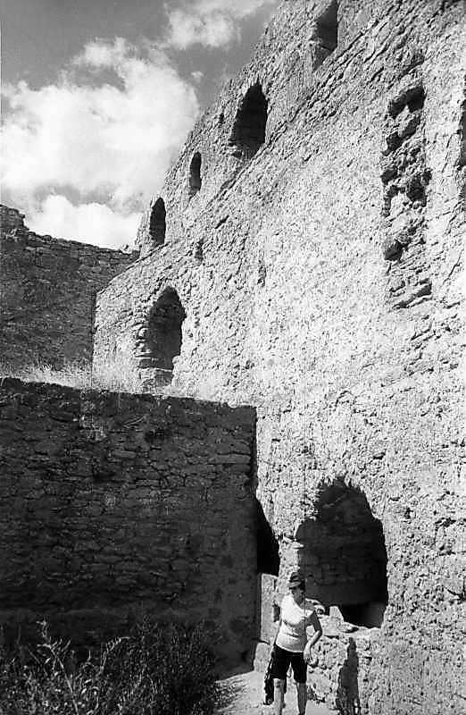 1984 р. Північний мур в ракурсі. Вигляд зі сходу