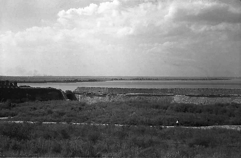 1984 р. Фрагмент середнього муру, брама 21 і східна ділянка північного муру