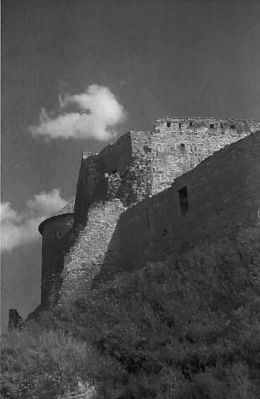 1984 р. Місце обвалу північно-західної башти. Вигляд із заходу