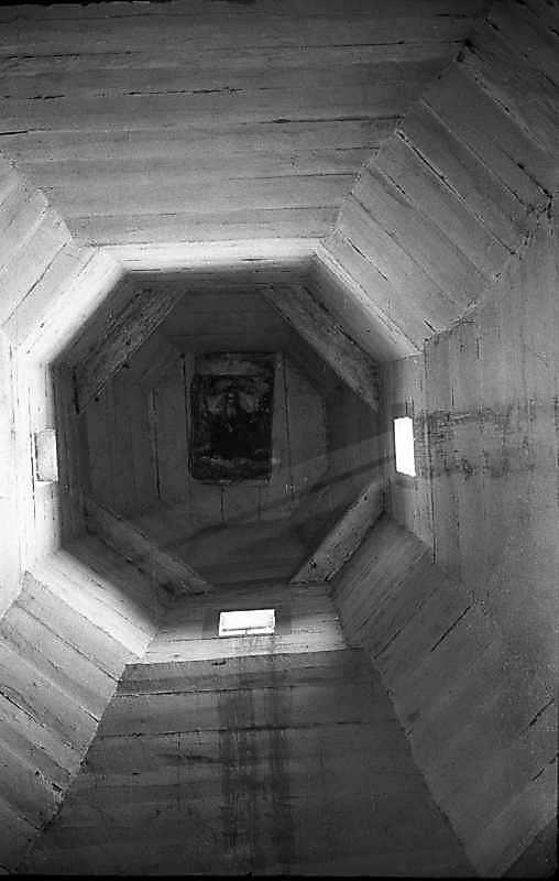 1985 р. Інтер'єр верху бабинця