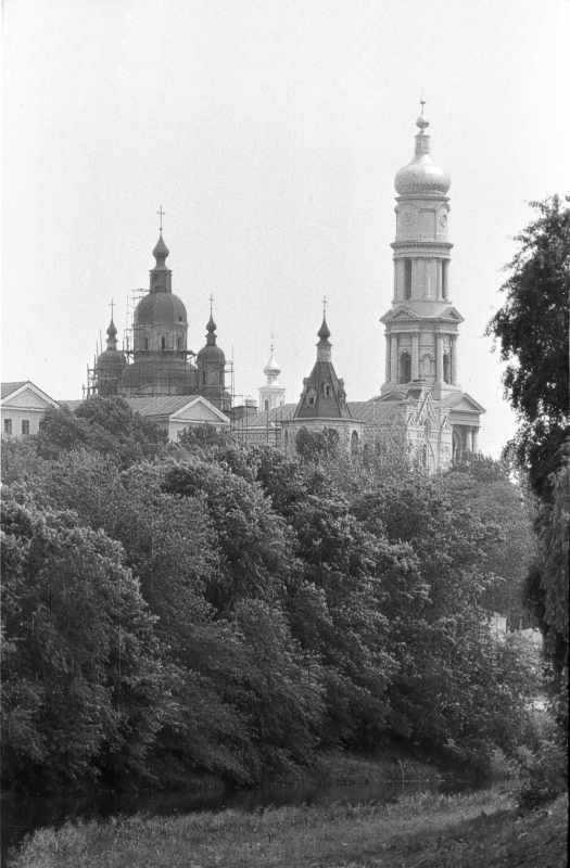 1986 р. Вид на історичний центр з північного заходу