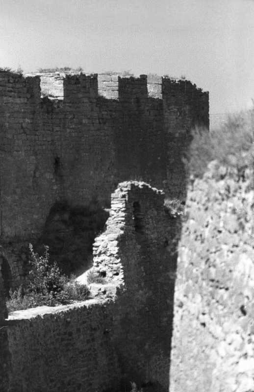 1986 р. Фрагмент північної частини східного фронту (?)