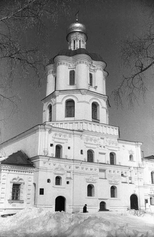 1987 р. Дзвіниця. Вигляд з південного заходу
