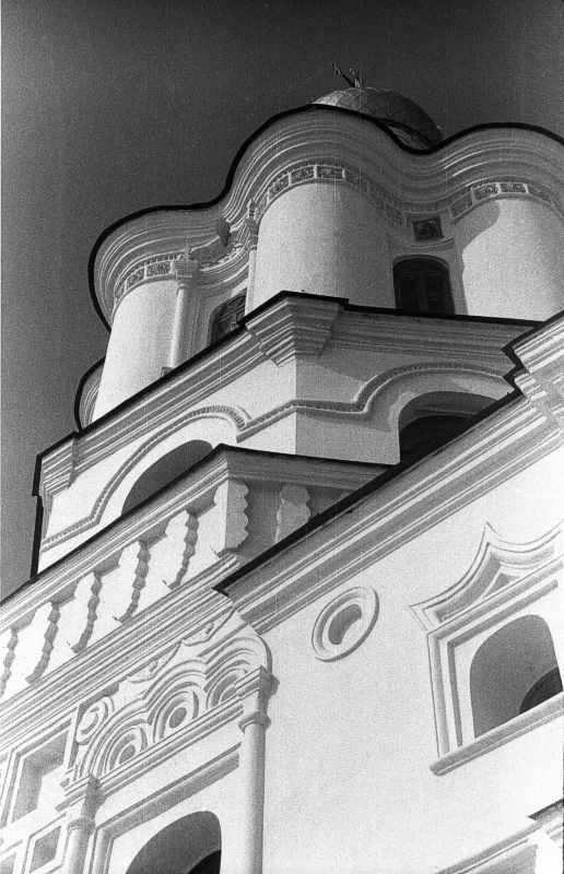 1987 р. Верх дзвіниці. Вигляд з південного сходу