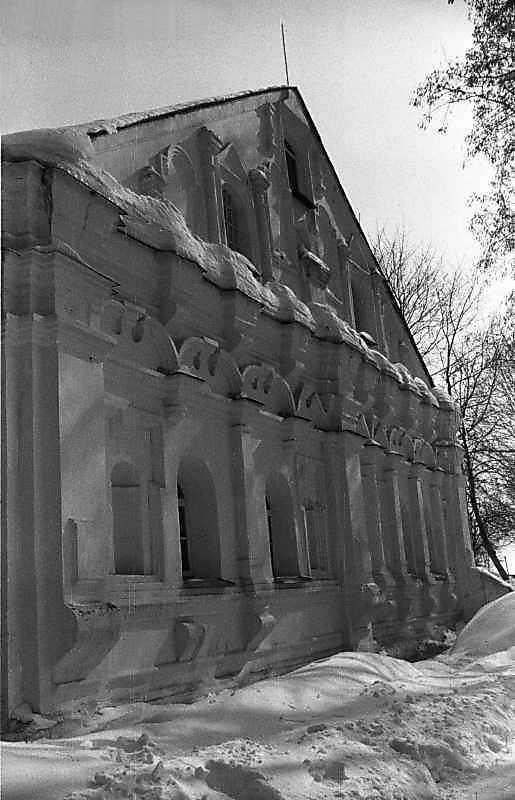 1987 р. Західний фасад. Вигляд з північного заходу